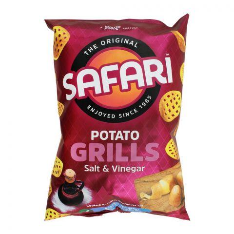 Safari Potato Grills Salt & Vinegar Chips, 60g