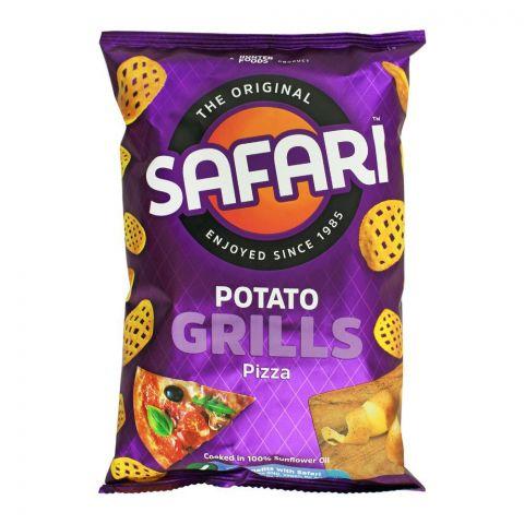 Safari Potato Grills Pizza Chips, 60g