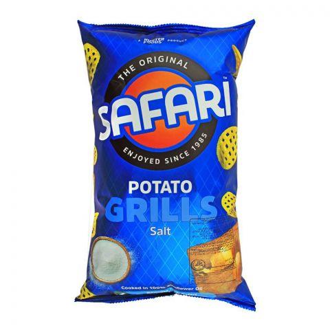 Safari Potato Grills Salt Chips, 125g