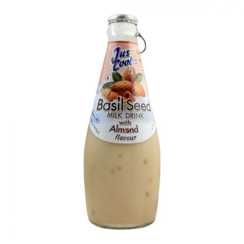 Jus Cool Basil Seed Milk Drink With Almond Flavor, 290ml