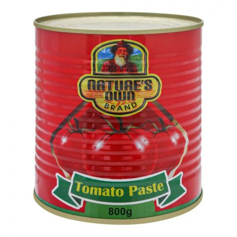 Nature's Own Tomato Paste, Tin, 800g