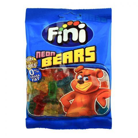 Fini Neon Bears Jelly, Gluten Free, 80g