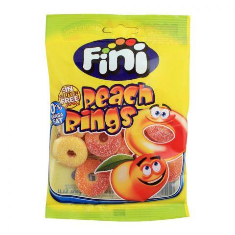 Fini Peach Rings Jelly, Gluten Free, 80g