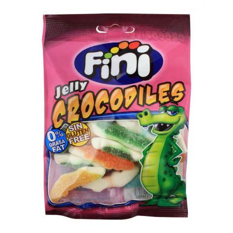 Fini Crocodiles Jelly, Gluten Free, 80g