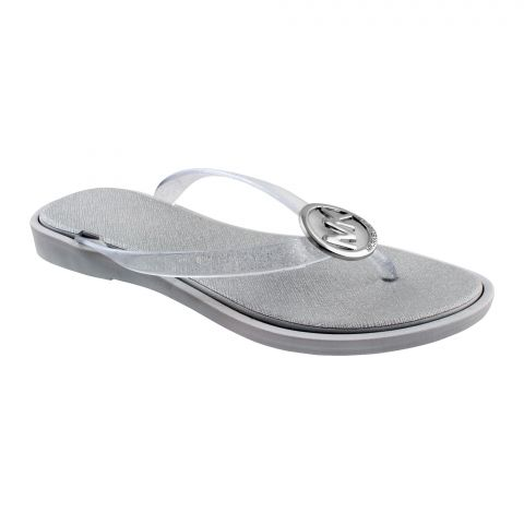 Women's Slippers, A-3, Silver