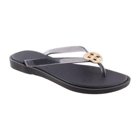 Women's Slippers A-4, Black