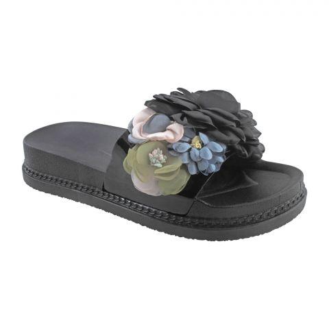 Women's Slippers A-5, Black