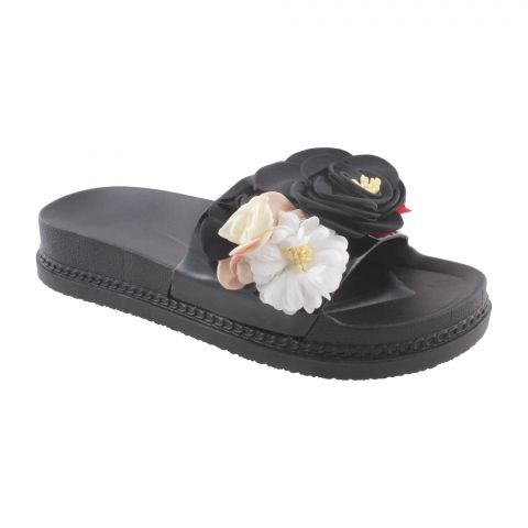 Women's Slippers A-6, Black