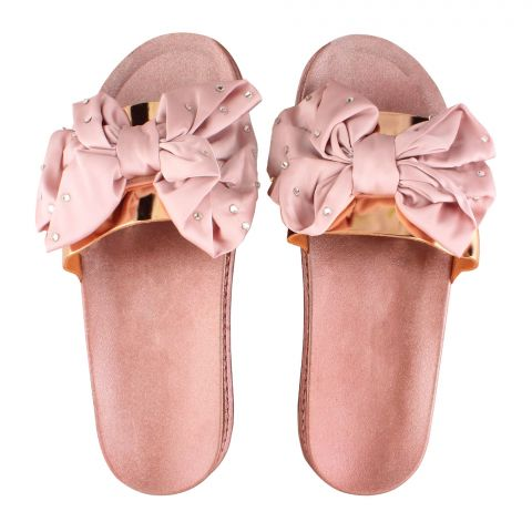 Women's Slippers, A-8, Gold