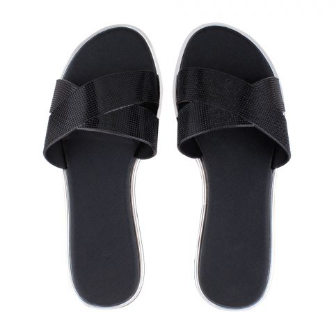 Women's Slippers, A-9, Black