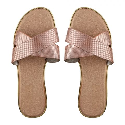 Women's Slippers, A-9, Gold