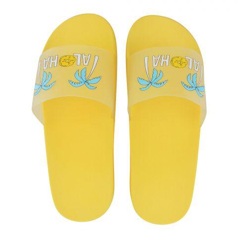 Women's Slippers, B-3, Yellow
