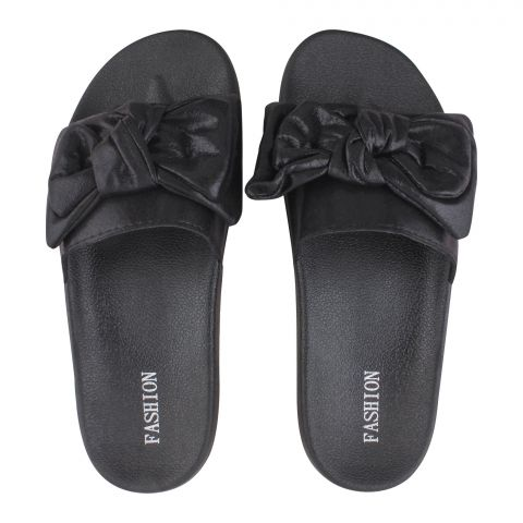 Women's Slippers, B-4, Black