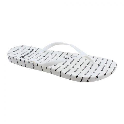 Women's Slippers, C-7, White