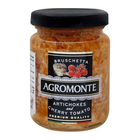 Agromonte Artichokes And Cherry Tomato Sauce, Gluten Free, 100g