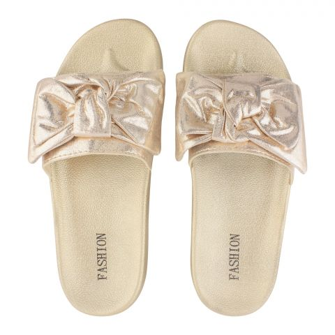 Women's Slippers, B-4, Gold