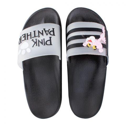 Women's Slippers, C-8, Black