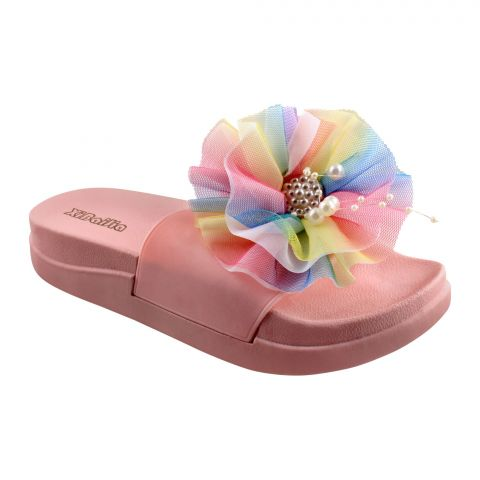 Xinbaijia Women's Slippers, B-6, Pink