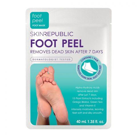 Skin Republic Foot Peel Foot Mask, 40ml