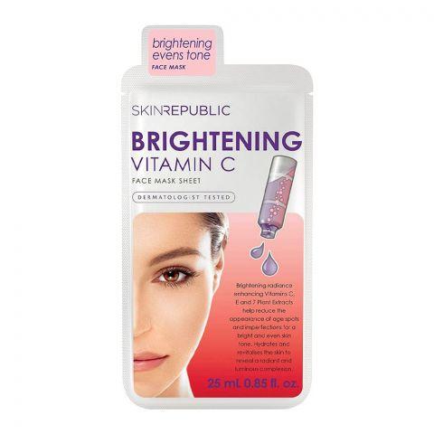 Skin Republic Brightening Vitamin C Face Mask, 25ml