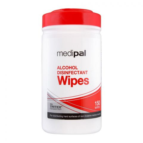 Medipal Alcohol Disinfectant Wipes, 150-Pack
