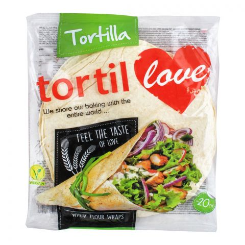Tortilla Tortil Wheat Flour Wraps, 12x20cm