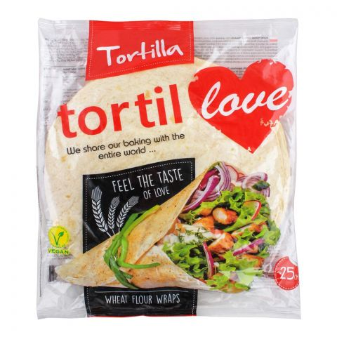 Tortilla Tortil Wheat Flour Wraps, 12x25cm