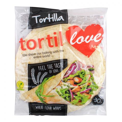 Tortilla Tortil Wheat Flour Wraps, 12x30cm