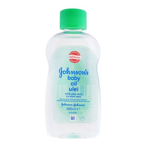 Johnson's Aloe Vera Baby Oil, Italy 200ml