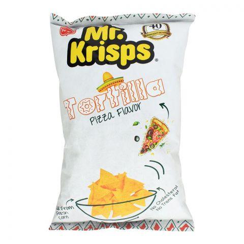 Mr. Krisps Tortilla, Pizza Flavor, 80g