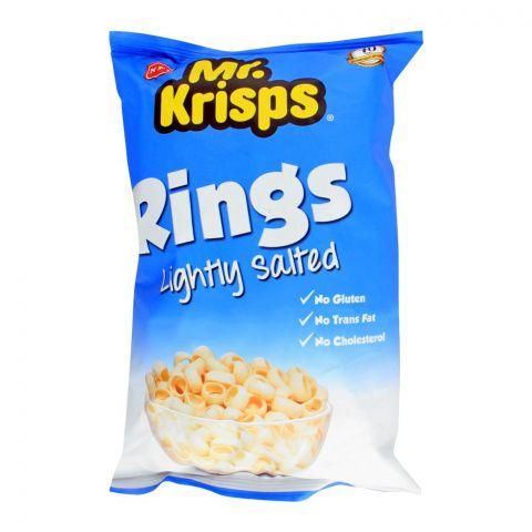 Mr. Krisps Rings, Lightly Salted Flavor, Oven Baked, Gluten Free, 80g