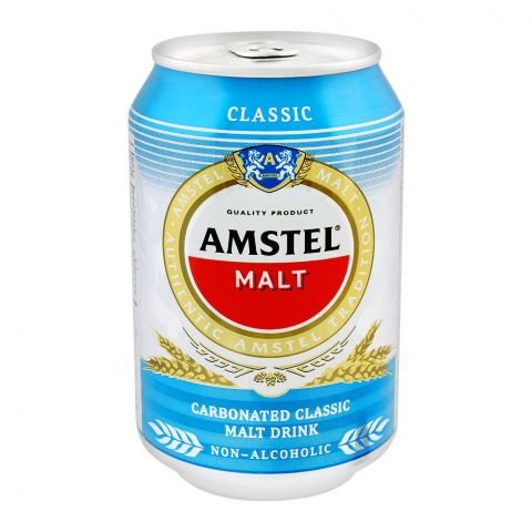 Amstel Malt, Classic, Non-Alcoholic, 300ml, Can