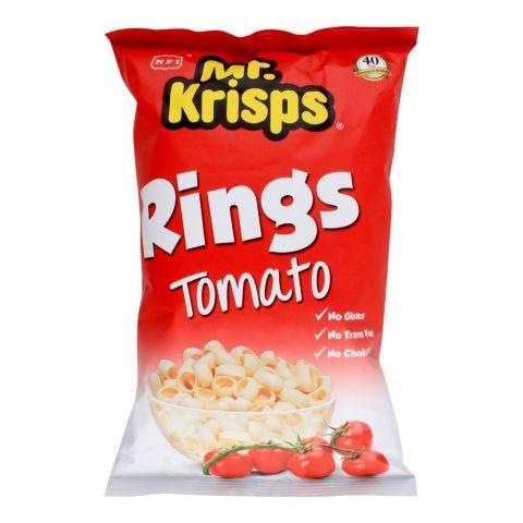 Mr. Krisps Rings, Tomato Flavor, Oven Baked, Gluten Free, 80g