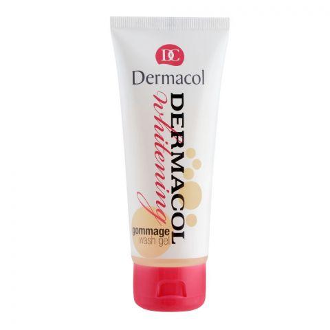 Dermacol Whitening Gommage Wash Gel, 100ml