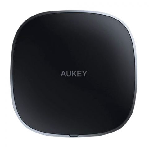 Aukey Graphite Wireless Charger, Black, LC-C5