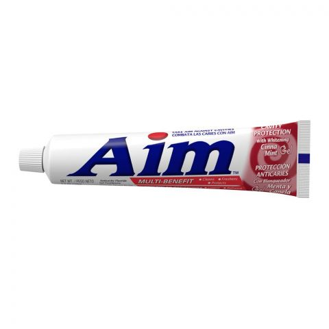 Aim Multi-Benefit Cinna Mint Gel Cavity Protection Toothpaste, 156g