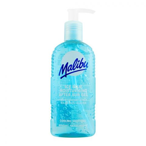 Malibu Ice Blue Moisturising After Sun Gel, 200ml