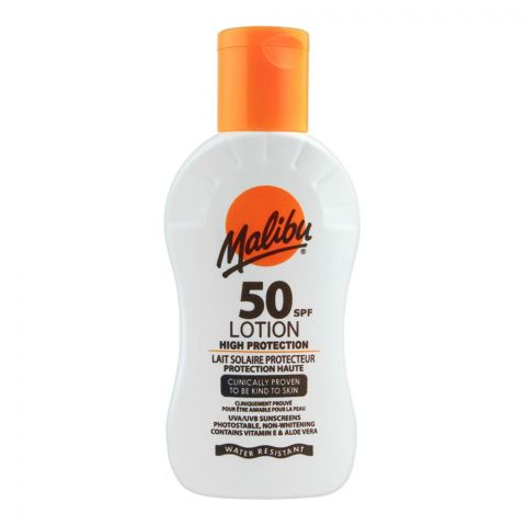Malibu SPF 50 High Protection Lotion, 100ml