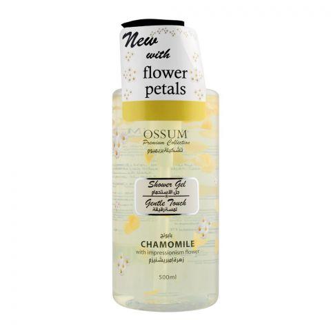 Ossum Flower Petals Gentle Touch Chamomile Shower Gel, 500ml