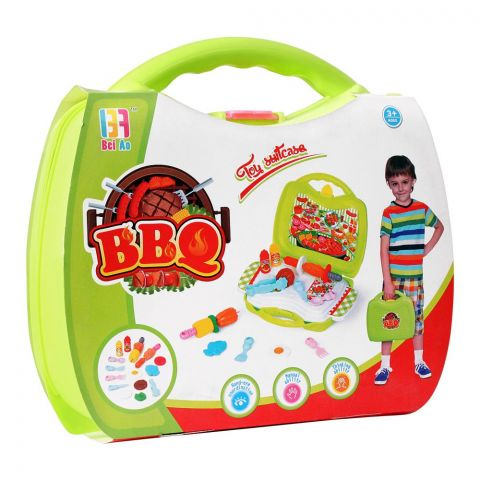 Live Long BBQ Toy Suitcase, 8004A