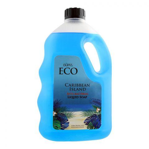 Dupas Eco Caribbean Island Anti Bacterial Liquid Soap, 1700ml