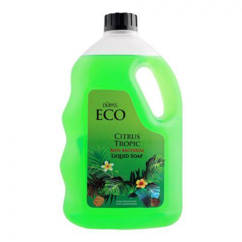 Dupas Eco Citrus Tropic Anti Bacterial Liquid Soap, 1700ml