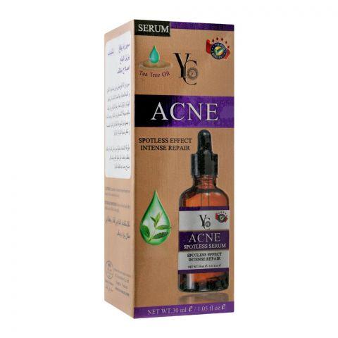 YC Acne Spotless Effect Intense Repair Serum, With Tea Tree Oil, 30ml