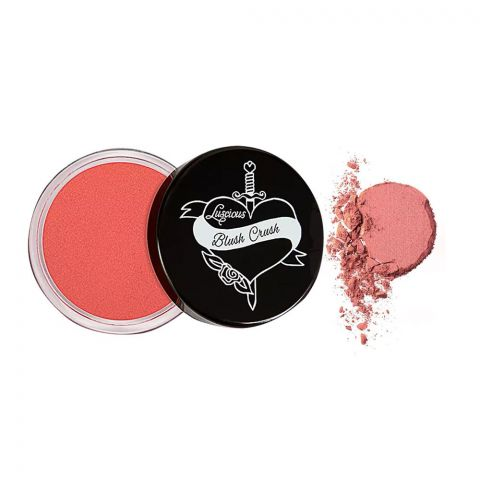 Luscious Cosmetics Blush Crush Matte Cream Lip & Cheek Tint, 02 Infatuation