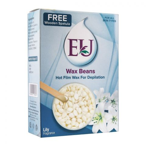 EU Lily Fragrance Wax Beans Hot Film Wax For Depilation, For All Skin Types, 100g