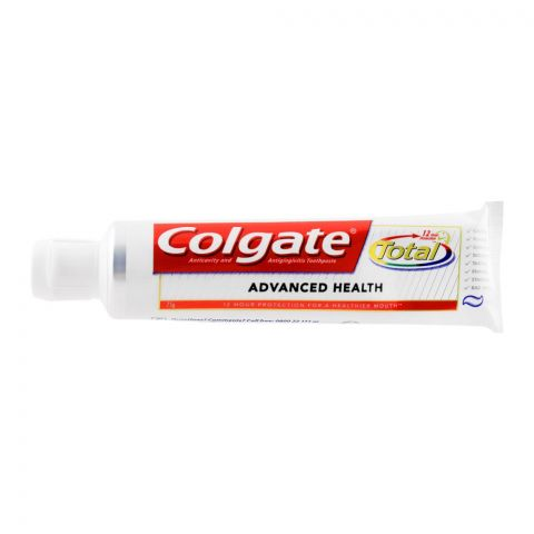 Colgate Total Advanced Health Toothpaste, 75g
