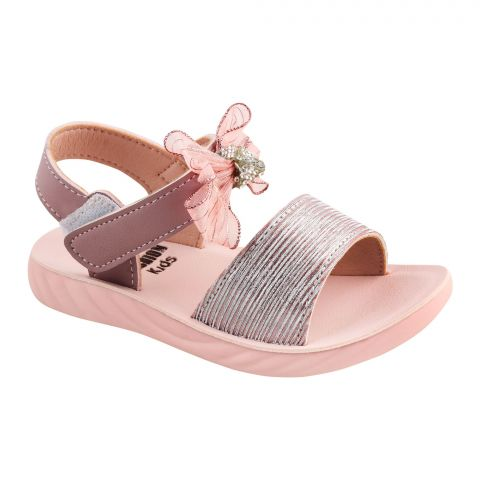 Kids Sandals, For Girls, A-2, Pink