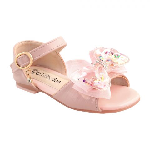 Kids Sandals, For Girls, T01, Pink