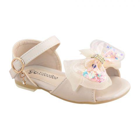 Kids Sandals, For Girls, T01, Beige