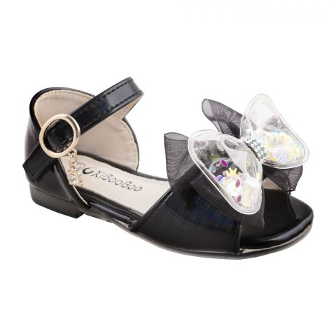 Kids Sandals, For Girls, T01, Black